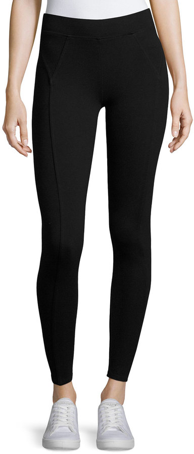 Three DotsThree Dots Riley Stretch-Knit Leggings, Black