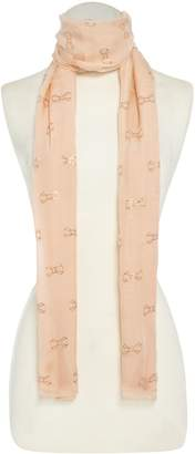 Ted Baker All over bow logo scarf
