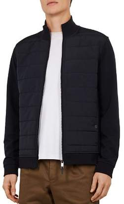 Ted Baker Mowtan Quilted Funnel Neck Jacket