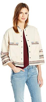 Velvet by Graham & Spencer Women's Embroidered Jacket