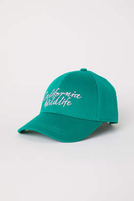 H&M Cotton Cap - Green