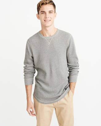 Abercrombie & Fitch Waffle Henley