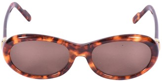 Cartier Camel Plastic Sunglasses