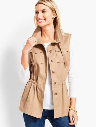 Talbots Casual Vest