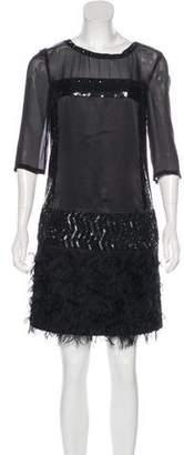 Philosophy di Alberta Ferretti Cocktail Sheath Dress