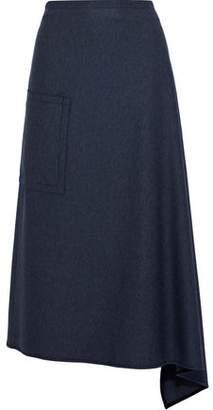Tibi Twill Midi Skirt