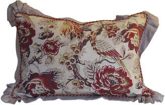 One Kings Lane Vintage French Printed Linen Pillow