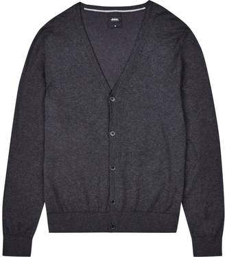 Burton Mens Charcoal Grey Cardigan
