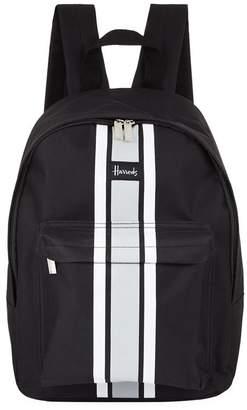 Harrods Logo Stripe Backpack