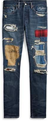Ralph Lauren Sullivan Slim Distressed Jean