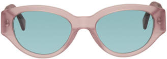 Super Pink and Blue Drew Mama Sunglasses