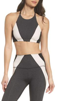 Beyond Yoga Around the Colorblock Sports Bra