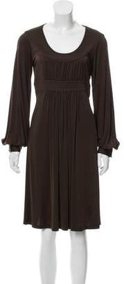 Michael Kors Long Sleeve Jersey Dress