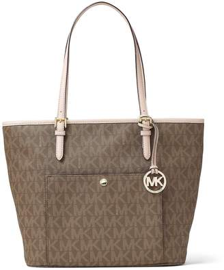 MICHAEL Michael Kors Jet Set Large Signature Tote