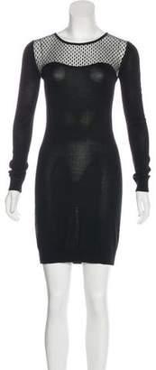 Diane von Furstenberg Long Sleeve Sweater Dress