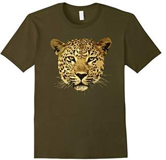 Cheetah Face Animal Instinct Born Wild Leopard Cat T Shirt