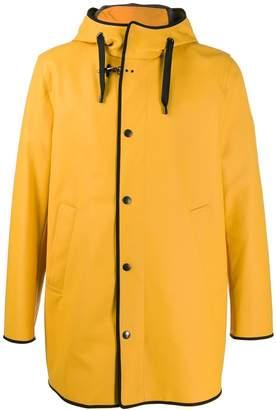 Fay hooded rain coat