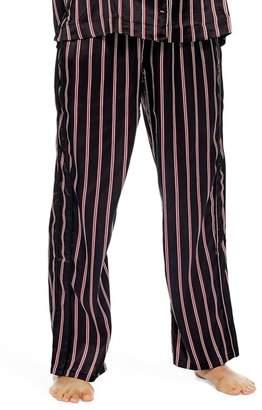 Topshop Satin Stripe Pajama Pants
