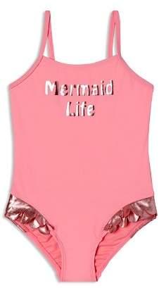 Hula Star Girls' Mermaid Life Swimsuit - Little Kid
