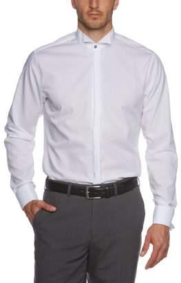 Seidensticker Men's Dress Shirt Formal Shirt Business Shirt Tailored Fit Long Sleeve Winged Collar Non-Iron Envelope Cuffs