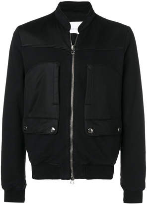 Pierre Balmain biker bomber jacket
