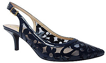J. Renee Genie Slingback Pointed-Toe Pumps