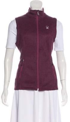 Spyder Logo-Embroidered Zip-Up Vest