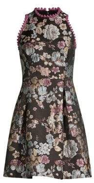 Laundry by Shelli Segal Brocade Fit-&-Flare Dress