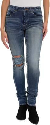 Saint Laurent Stretch & Broken Jeans