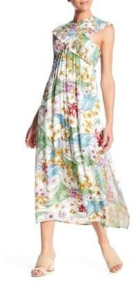 Lush Smocked Bodice Maxi Dress