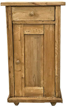 One Kings Lane Vintage Antique Pine Cabinet from Holland