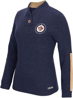 Reebok Winnipeg Jets Shawl Collar Pullover