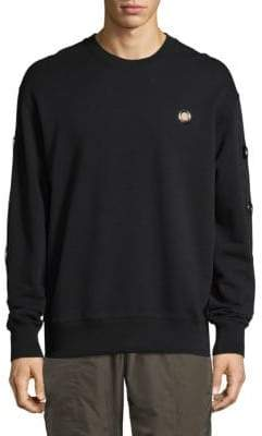 Versus By Versace Grommet Cotton Sweater