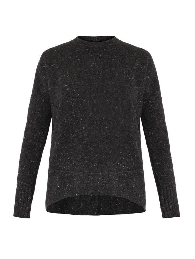 ADAM by Adam Lippes Melange-knit oversized sweater