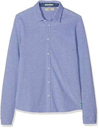 Scotch & Soda Shrunk Boy's Pique Shirt Blouse,(Size: 16)