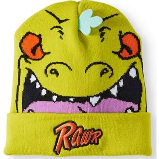 Nickelodeon Reptar Novelty Multi-Pom Knit Beanie