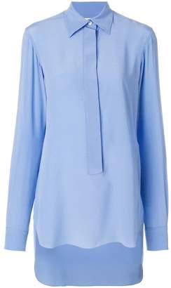 Victoria Beckham front placket shirt