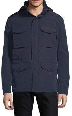 J. Lindeberg Hooded Zip Jacket