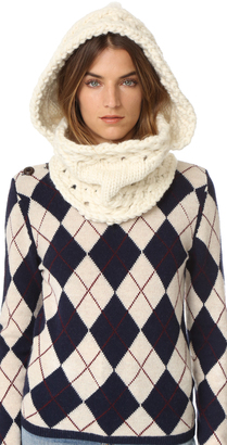 The Third Piece The Newbury Hooded Cowl Scarf $268 thestylecure.com