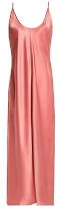 Alexander Wang Silk-Satin Midi Slip Dress