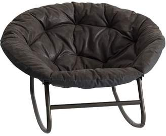 Pottery Barn Teen Hang-A-Round Rocking Chair, Charcoal Trailblazer