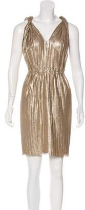 Lanvin Silk-Blend Sleeveless Dress