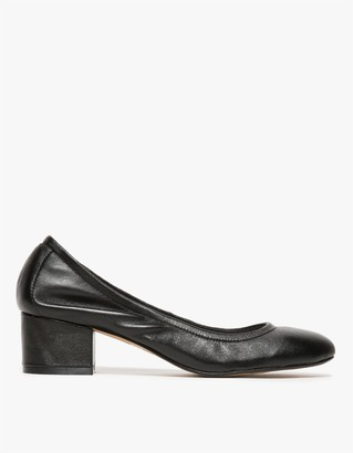 Bitsie Low in Black Leather $82.99 thestylecure.com
