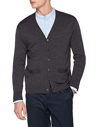 Brooks Brothers Men's Cardigan Scollo a V,X-Small
