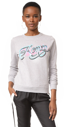 KENZO Kenzo Embroidered Sweater $270 thestylecure.com