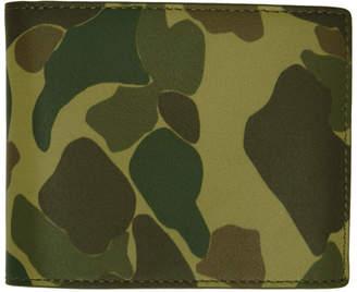 Rag & Bone Multicolor Camouflage Hampshire Wallet