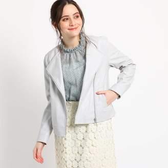 Couture Brooch (クチュール ブローチ) - クチュール ブローチ Couture brooch 【WEB限定販売】ライダースジャケット (ライトグレー)