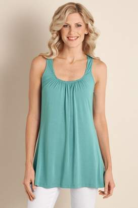 Soft Surroundings Soft Drapey Tank