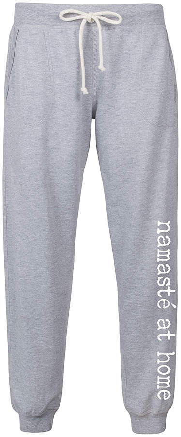 Athletic Heather 'Namaste at Home' Joggers - Women