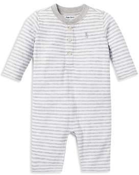 Ralph Lauren Boys' Striped Coverall - Baby